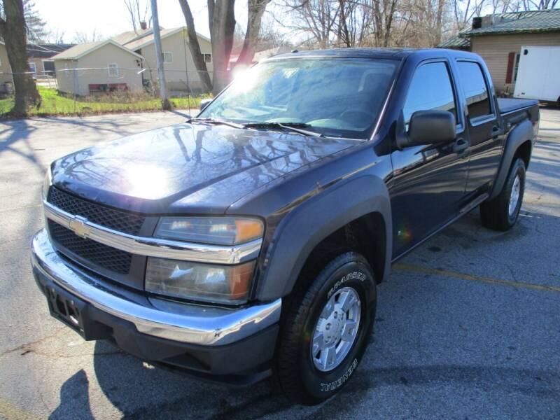 2007 Chevrolet Colorado for sale at RJ Motors in Plano IL