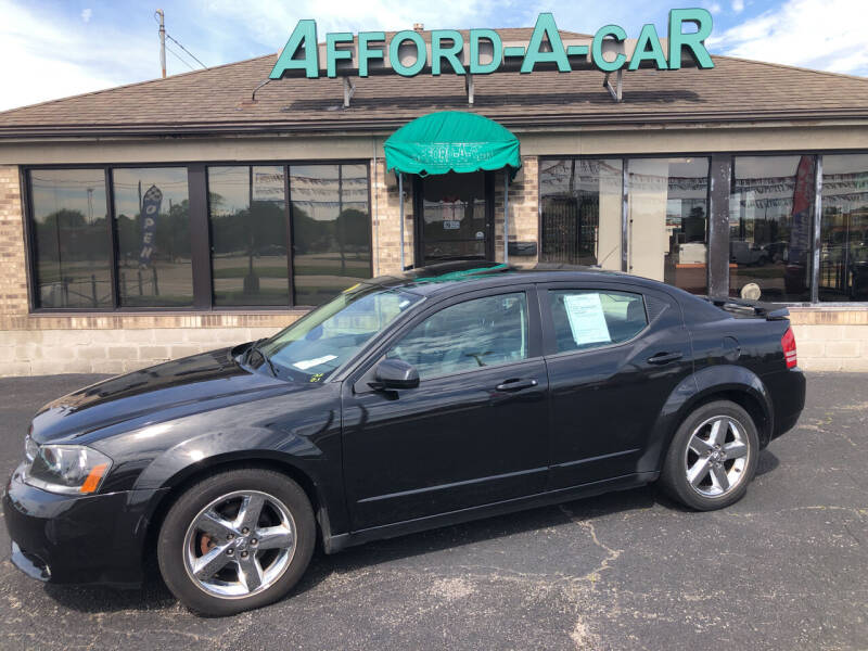 2008 Dodge Avenger for sale at Afford-A-Car in Moraine OH