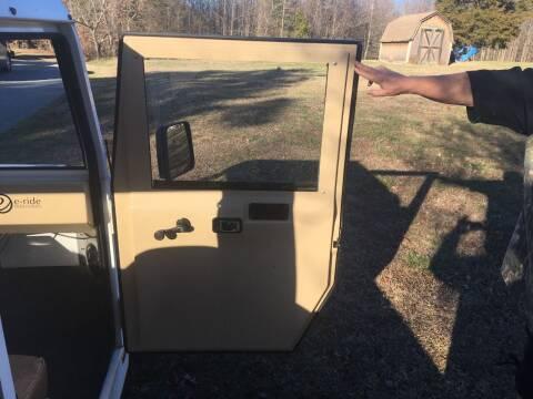 2008 E Ride Golf Cart Truck