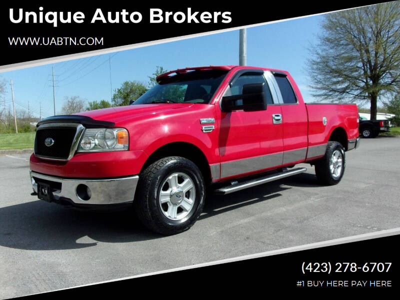 2008 Ford F-150 for sale at Unique Auto Brokers in Kingsport TN