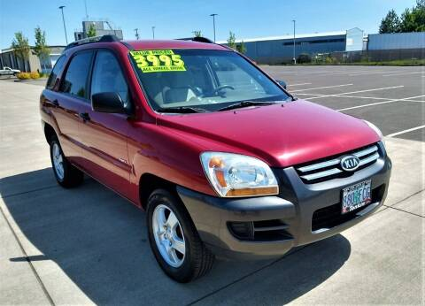 2006 Kia Sportage for sale at SWIFT AUTO SALES INC in Salem OR