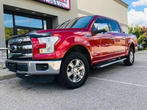 2015 Ford F-150 for sale at ALL AMERICAN AUTO MART in Edwardsville KS