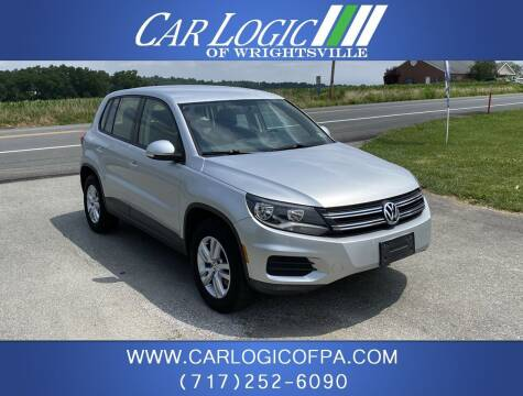2013 Volkswagen Tiguan for sale at Car Logic in Wrightsville PA