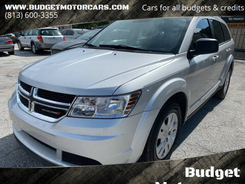 2014 Dodge Journey for sale at Budget Motorcars in Tampa FL