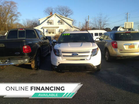 2011 Ford Explorer for sale at Marino's Auto Sales in Laurel DE