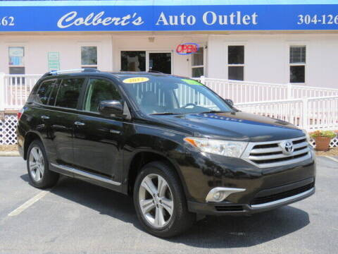 2012 Toyota Highlander for sale at Colbert's Auto Outlet in Hickory NC