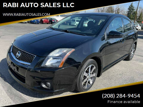 2012 Nissan Sentra for sale at RABI AUTO SALES LLC in Garden City ID