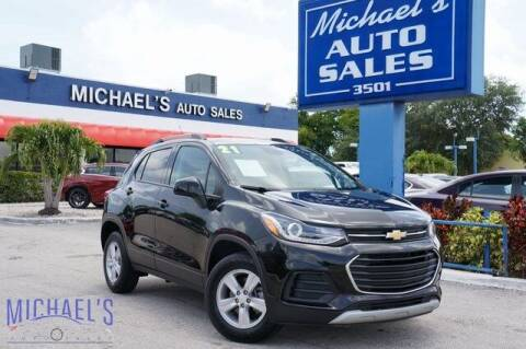 2021 Chevrolet Trax for sale at Michael's Auto Sales Corp in Hollywood FL