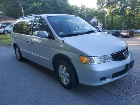 2002 Honda Odyssey for sale at STURBRIDGE CAR SERVICE CO in Sturbridge MA
