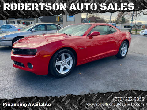 2012 Chevrolet Camaro for sale at ROBERTSON AUTO SALES in Bowling Green KY