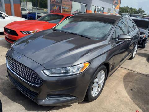 2016 Ford Fusion for sale at P J Auto Trading Inc in Orlando FL