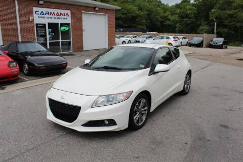 2013 Honda CR-Z for sale at CARMANIA LLC in Chesapeake VA