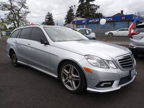 2011 Mercedes-Benz E-Class for sale at All American Motors in Tacoma WA