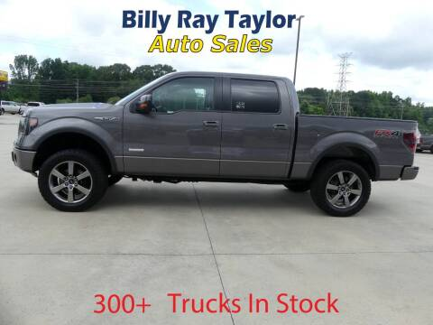 2013 Ford F-150 for sale at Billy Ray Taylor Auto Sales in Cullman AL