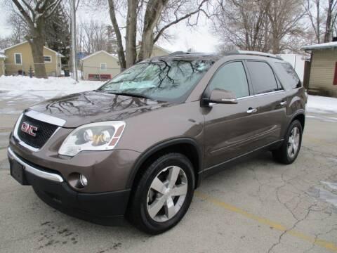 2011 GMC Acadia for sale at RJ Motors in Plano IL
