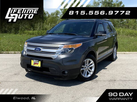 2015 Ford Explorer for sale at Lifetime Auto in Elwood IL