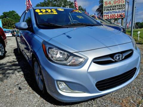 2012 Hyundai Accent for sale at AFFORDABLE AUTO SALES OF STUART in Stuart FL