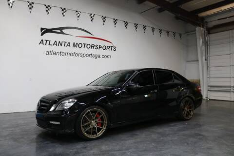 2013 Mercedes-Benz E-Class for sale at Atlanta Motorsports in Roswell GA