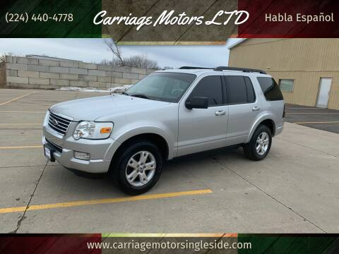 2010 Ford Explorer for sale at Carriage Motors LTD in Ingleside IL