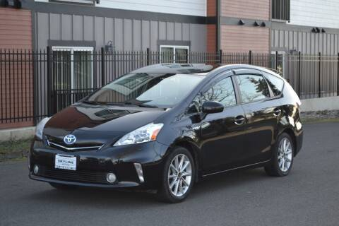 2012 Toyota Prius v for sale at Skyline Motors Auto Sales in Tacoma WA