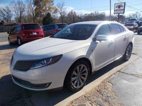 2013 Lincoln MKS for sale at High Country Motors in Mountain Home AR