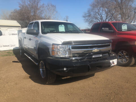 2007 Chevrolet Silverado 1500 for sale at BARNES AUTO SALES in Mandan ND