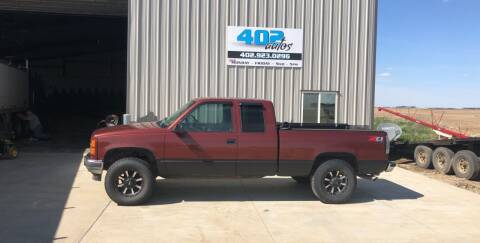 1998 GMC Sierra 1500 for sale at 402 Autos in Lindsay NE
