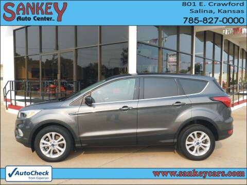 2019 Ford Escape for sale at Sankey Auto Center, Inc in Salina KS