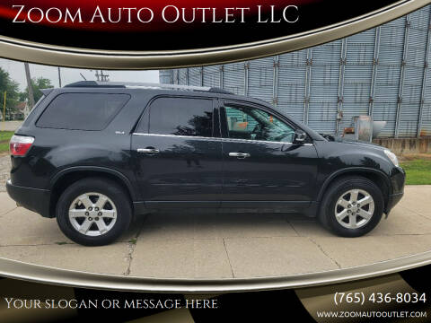 2010 GMC Acadia for sale at Zoom Auto Outlet LLC in Thorntown IN