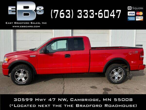 2006 Ford F-150 for sale at East Bradford Sales, Inc in Cambridge MN