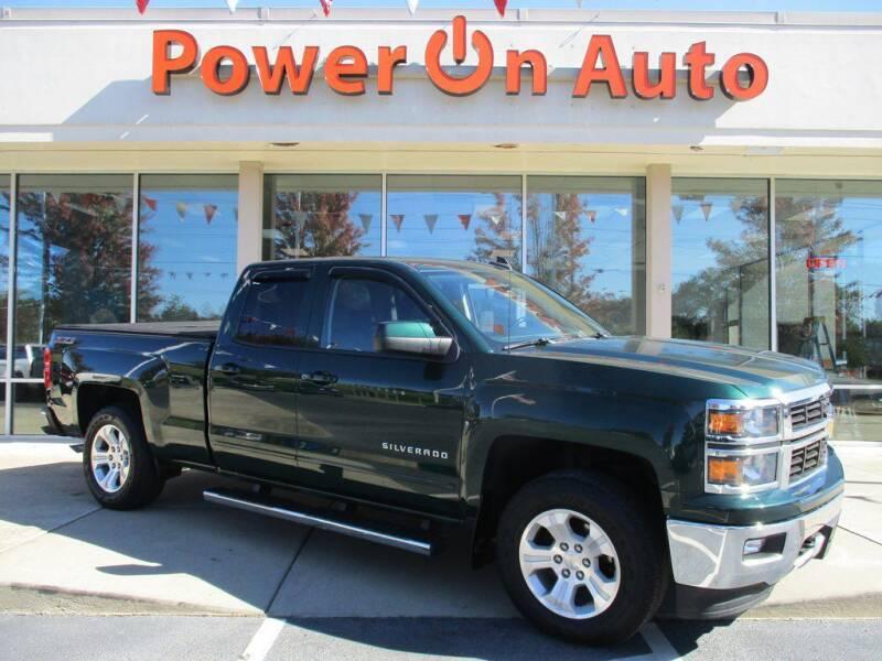 2015 Chevrolet Silverado 1500 for sale at Power On Auto LLC in Monroe NC
