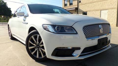 2020 Lincoln Continental for sale at Prudential Auto Leasing in Hudson OH