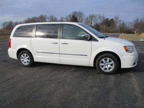 2012 Chrysler Town and Country for sale at Crossroads Used Cars Inc. in Tremont IL