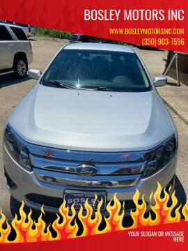 2012 Ford Fusion for sale at BOSLEY MOTORS INC in Tallmadge OH