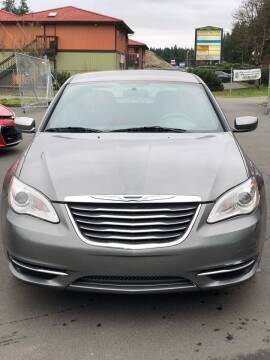 2012 Chrysler 200 for sale at ALHAMADANI AUTO SALES in Spanaway WA