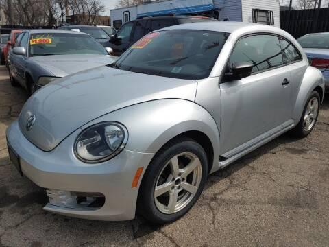 2012 Volkswagen Beetle for sale at JIREH AUTO SALES in Chicago IL