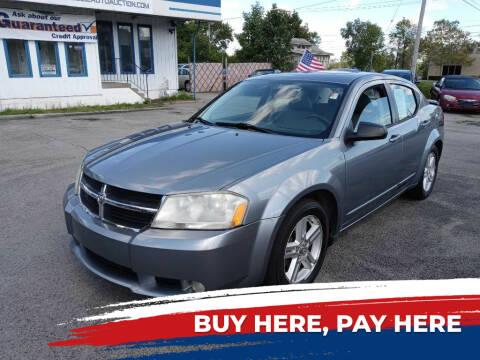 2008 Dodge Avenger for sale at E.L. Davis Enterprises LLC in Youngstown OH