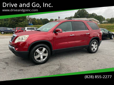 2012 GMC Acadia for sale at Drive and Go, Inc. in Hickory NC