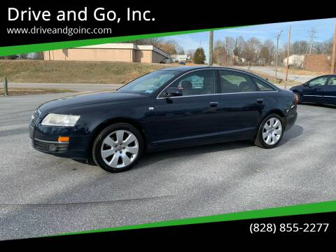 2007 Audi A6 for sale at Drive and Go, Inc. in Hickory NC
