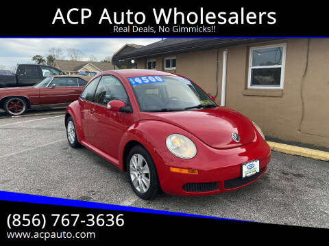 2008 Volkswagen New Beetle for sale at ACP Auto Wholesalers in Berlin NJ