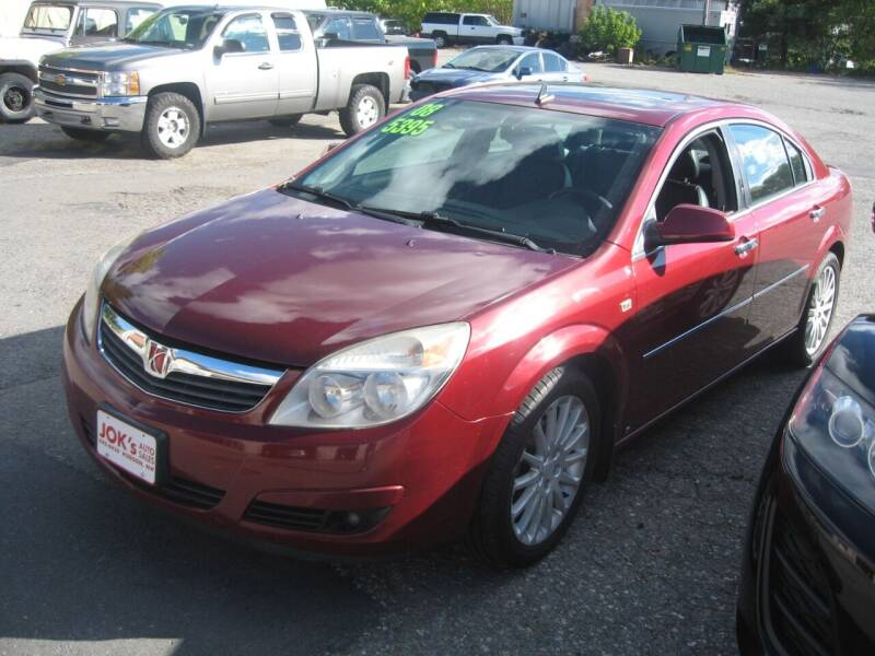 2008 Saturn Aura for sale at Joks Auto Sales & SVC INC in Hudson NH