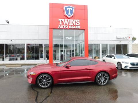 2019 Ford Mustang for sale at Twins Auto Sales Inc Redford 1 in Redford MI
