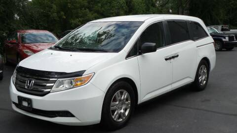 2012 Honda Odyssey for sale at JBR Auto Sales in Albany NY