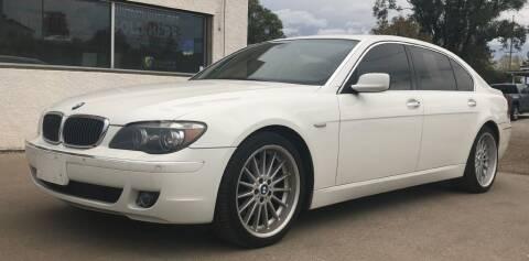 2008 BMW 7 Series for sale at Apple Auto in La Crescent MN