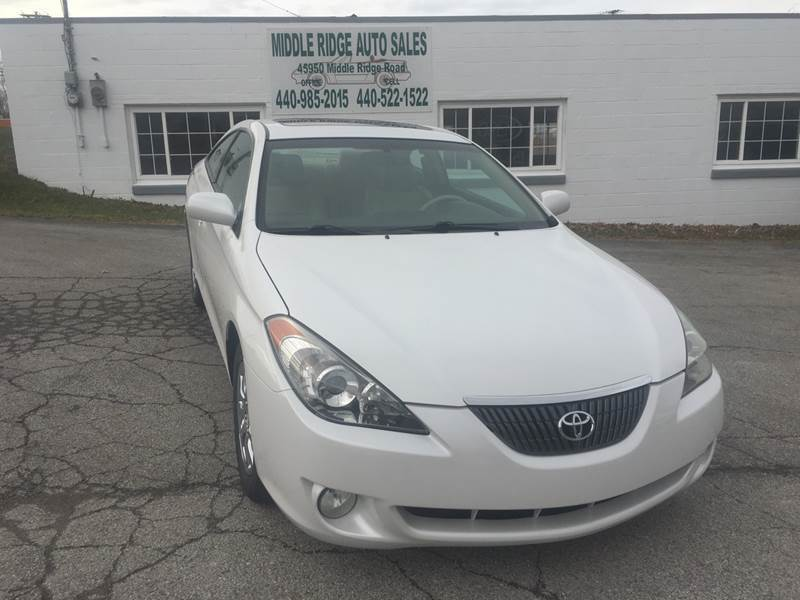 2006 Toyota Camry Solara for sale at Middle Ridge Auto Sales in Amherst OH