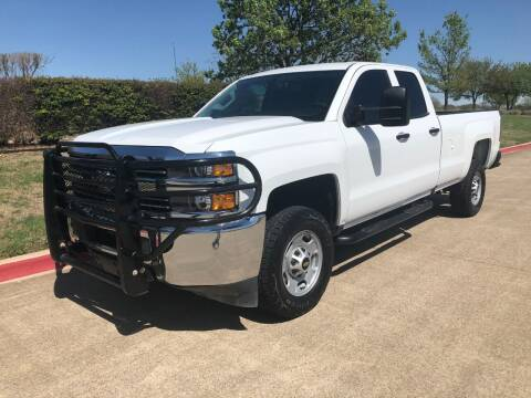 2017 Chevrolet Silverado 2500HD for sale at Taylor Investments in Plano TX
