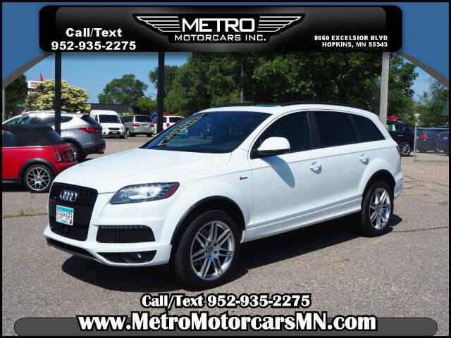 2015 Audi Q7 for sale at Metro Motorcars Inc in Hopkins MN