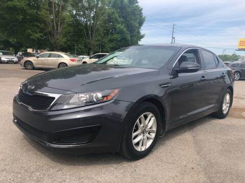 2011 Kia Optima for sale at Atlantic Auto Sales in Garner NC