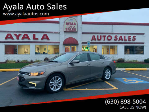 2017 Chevrolet Malibu for sale at Ayala Auto Sales in Aurora IL