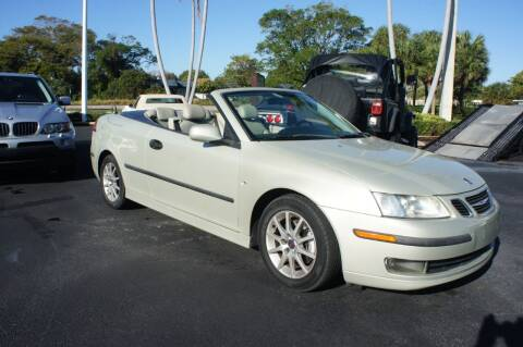 2005 Saab 9-3 for sale at Dream Machines USA in Lantana FL
